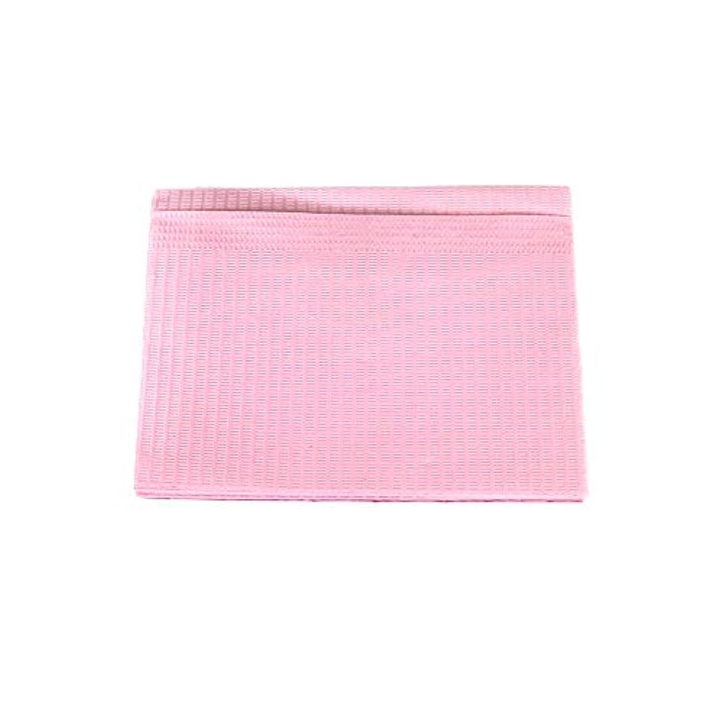 スタウト道を作る混合防水ネイルペーパー ピンク 10枚入り ネイルシート 防水ペーパー キッチンペーパー