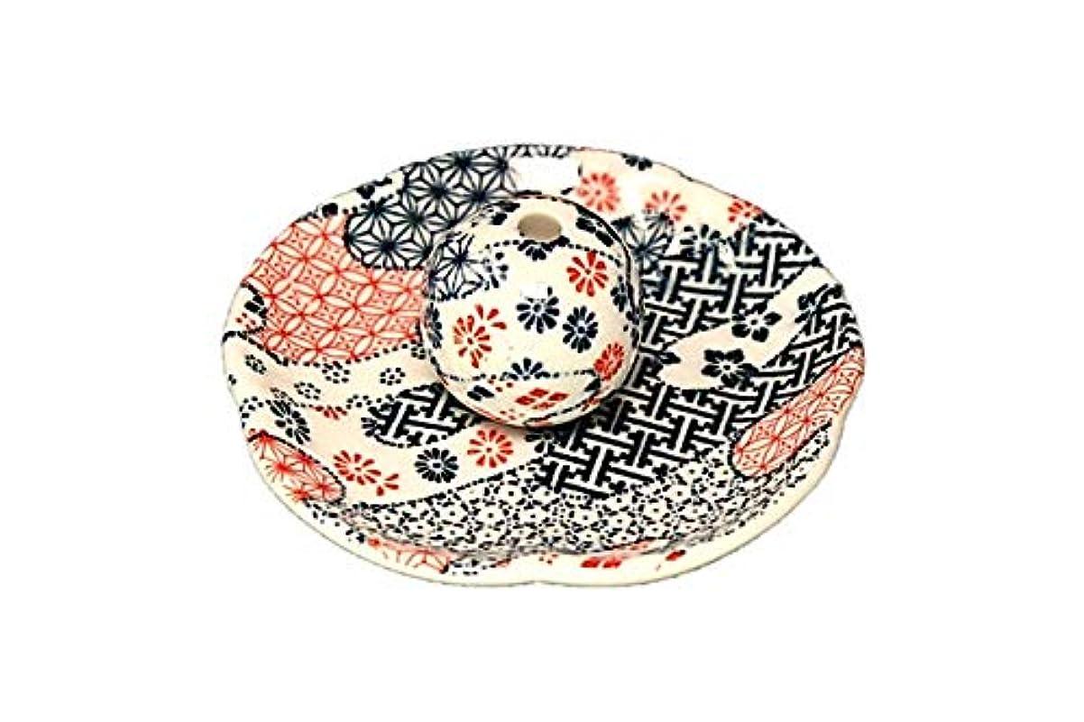 雪だるま鮮やかな消化器雲祥端 花形香皿 お香立て お香たて 日本製 ACSWEBSHOPオリジナル
