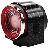 A6S 自転車盗難防止警報テールライト、ワイヤレススピーカーライト、USB充電 夜の乗馬スマートテールライト