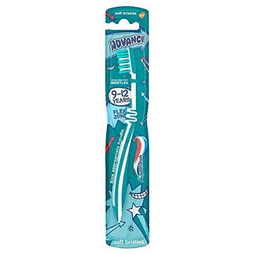 じゃがいも散歩組[Aquafresh ] アクアフレッシュの事前9-12年間の子供たちは、75ミリリットルの歯ブラシ - Aquafresh Advance 9-12 Years Kids Toothbrush 75 ml [並行輸入品]