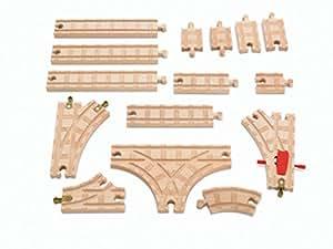 きかんしゃトーマス 木製レールシリーズ ベーシック拡張線路セット Y4088