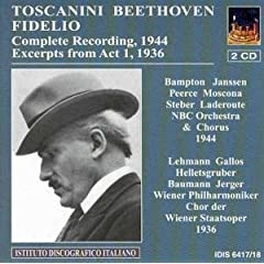 トスカニーニ指揮 ザルツブルグ音楽祭 ベートーヴェン:歌劇《フィデリオ》の商品写真