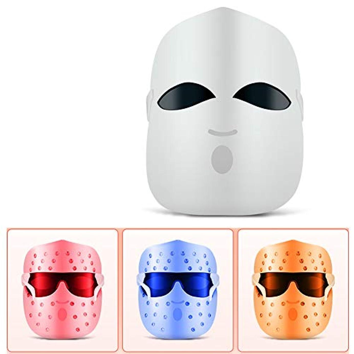 スクランブルピルファーゆりかごフェイスマスク、にきびの治療のための光療法にきびマスク|スポット|にきび|肌のシミ