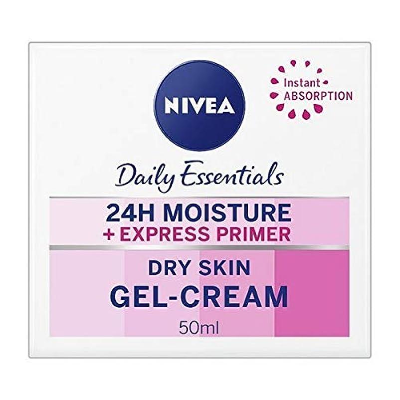 八百屋さん潮パラメータ[Nivea ] ニベアエクスプレスプライマーゲルクリーム、50ミリリットル - NIVEA Express Primer Gel-Cream, 50ml [並行輸入品]