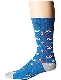 ヴィニヤードヴァインズ Vineyard Vines メンズ 靴下 ソックス Hull Blue Valentines Day Socks [並行輸入品]