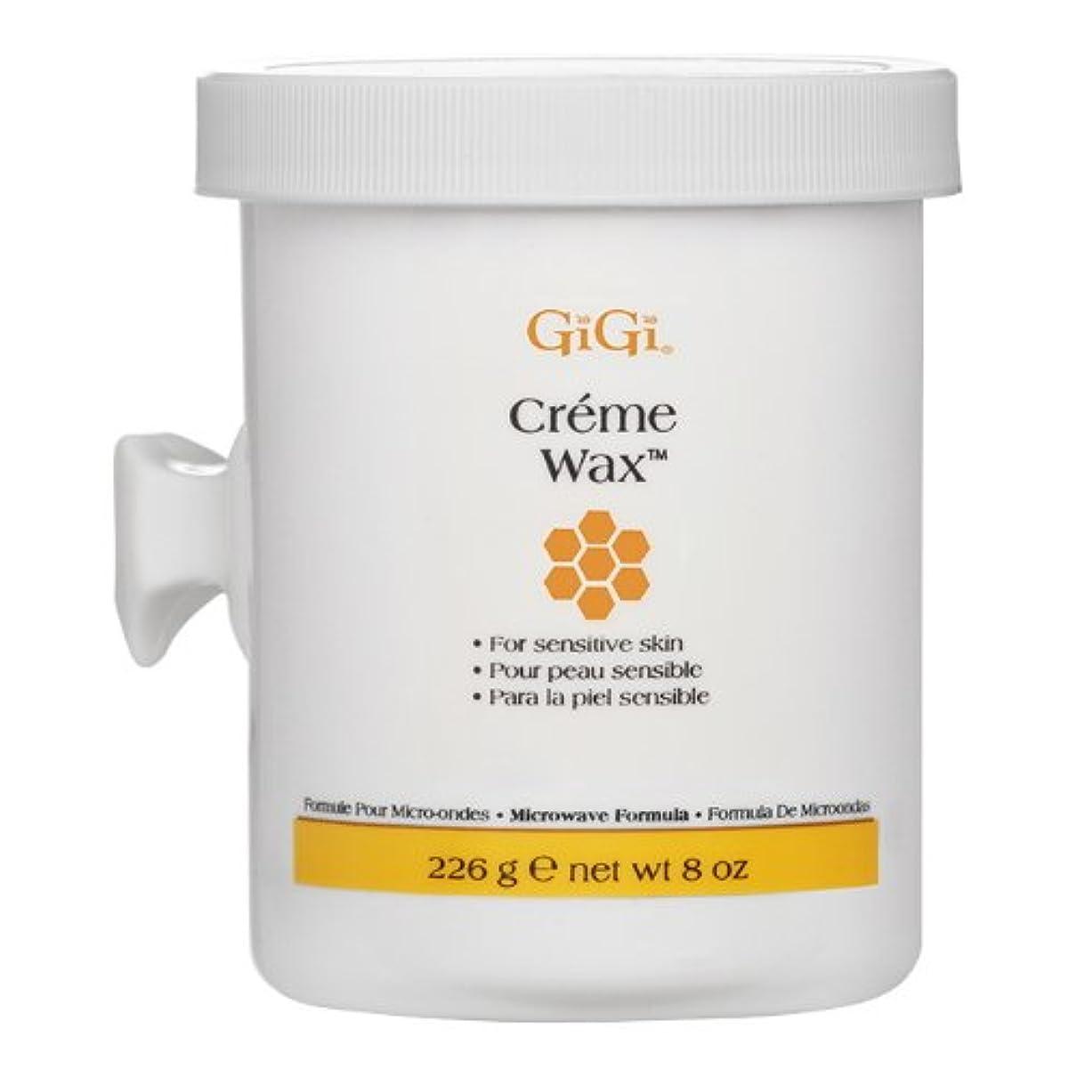 イブニングお風呂を持っている行動(6 Pack) GIGI Creme Wax Microwave - GG0360 (並行輸入品)