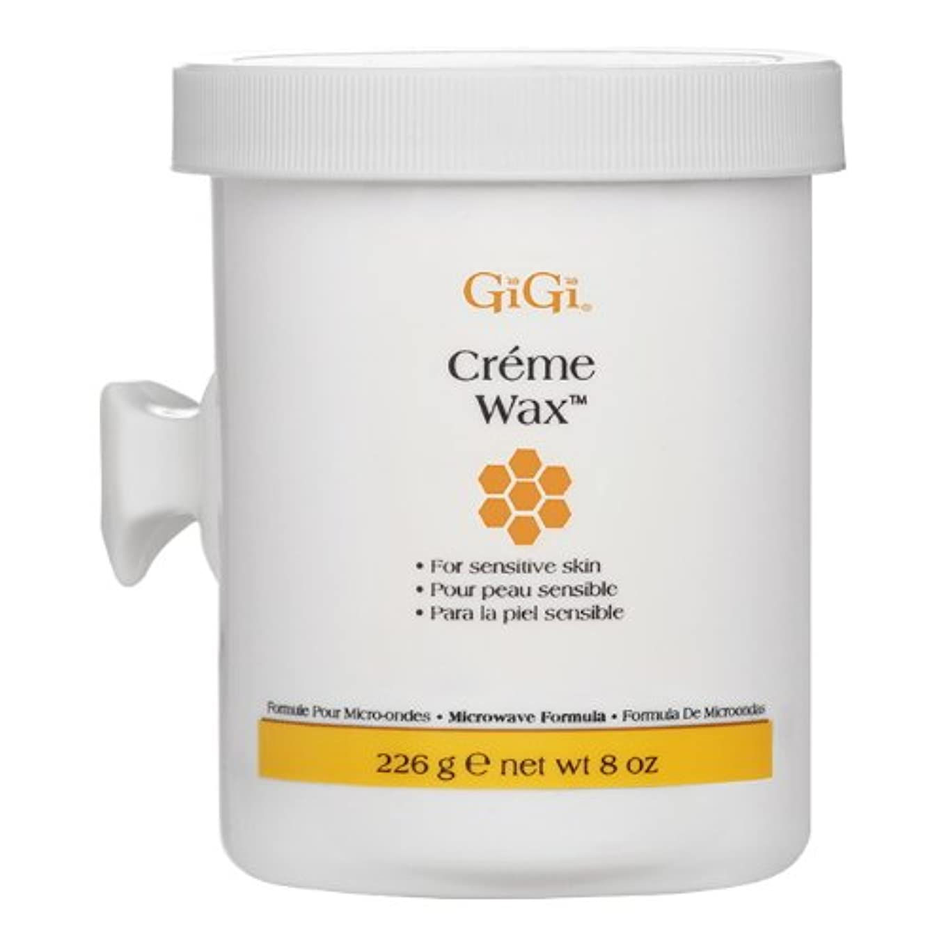 ルビー贅沢有名(3 Pack) GIGI Creme Wax Microwave - GG0360 (並行輸入品)