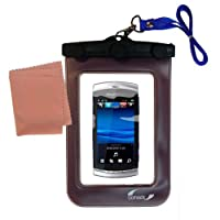 Underwater Case for the Sony Ericsson Vivaz–天気、安全に保護防水ケースagainst the elements