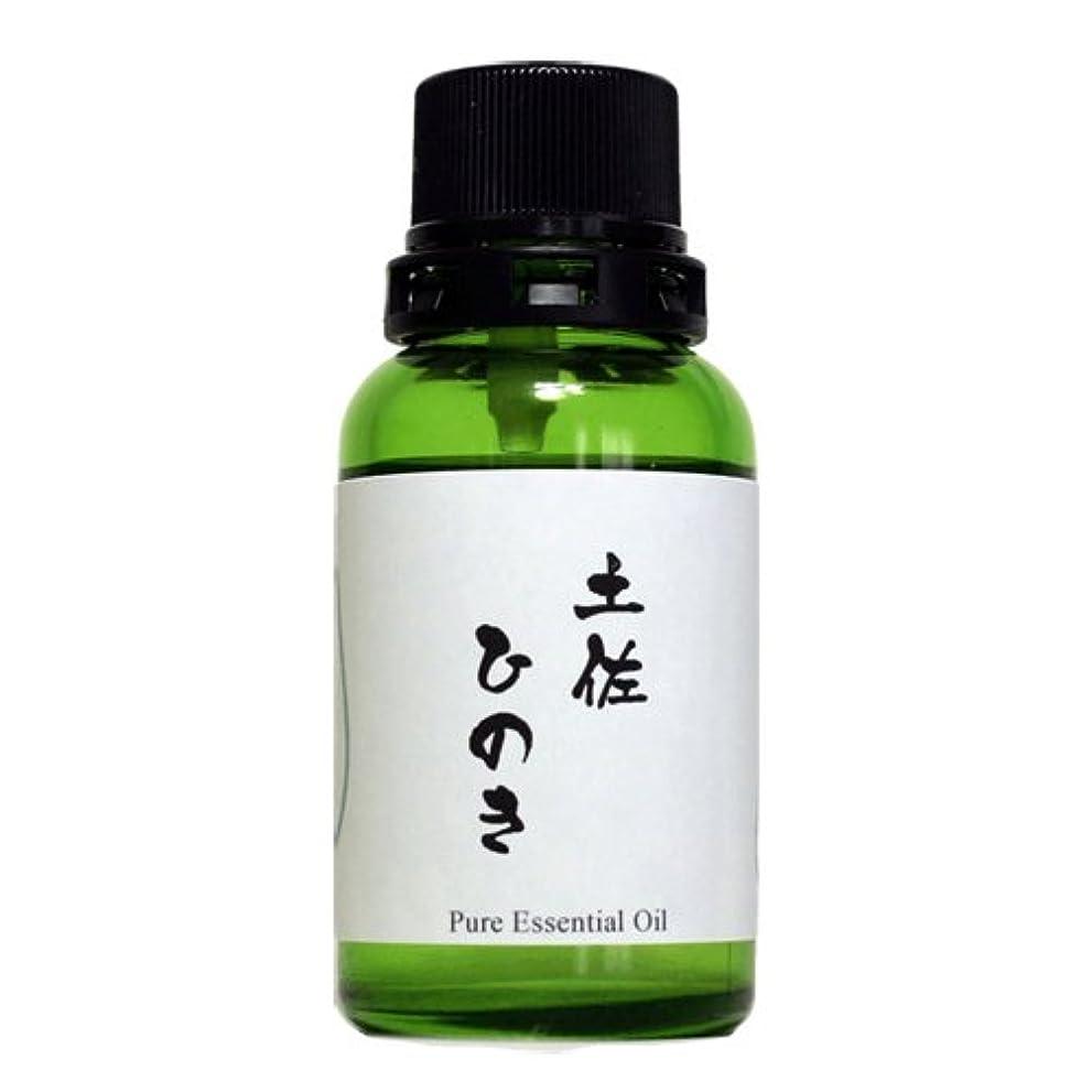 反発不愉快地質学和精油 土佐ひのき(高知県産) エッセンシャルオイル 30ml
