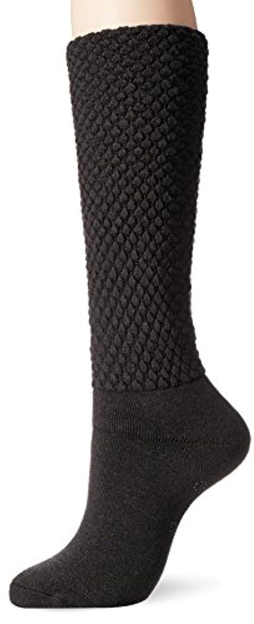 まともなレザー懐疑論[Mizuno] ライフスタイルウェア ブレスサーモ ゆるぬく ゴム無しロング靴下 C2JX7803 レディース