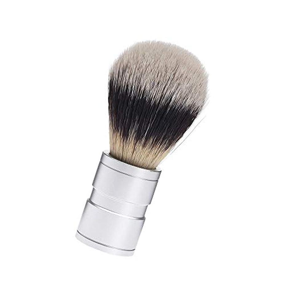 献身コース電気陽性1本セット 毛 ファイン シェービング用ブラシ シェービングブラシ 理容 洗顔 髭剃り