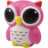 HENGSONG Pink Owl Toy Slow Rising Relieves Stress Soft Toy for Children and Adult Toy Gift