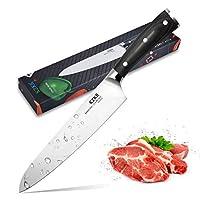 家および台所のためのKZKRの専門のシェフのナイフ20cmの鋭いステンレス鋼のナイフクックのナイフ