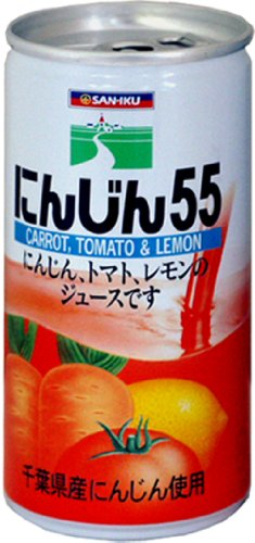 三育フーズ にんじんミックス55 缶 190gx30本