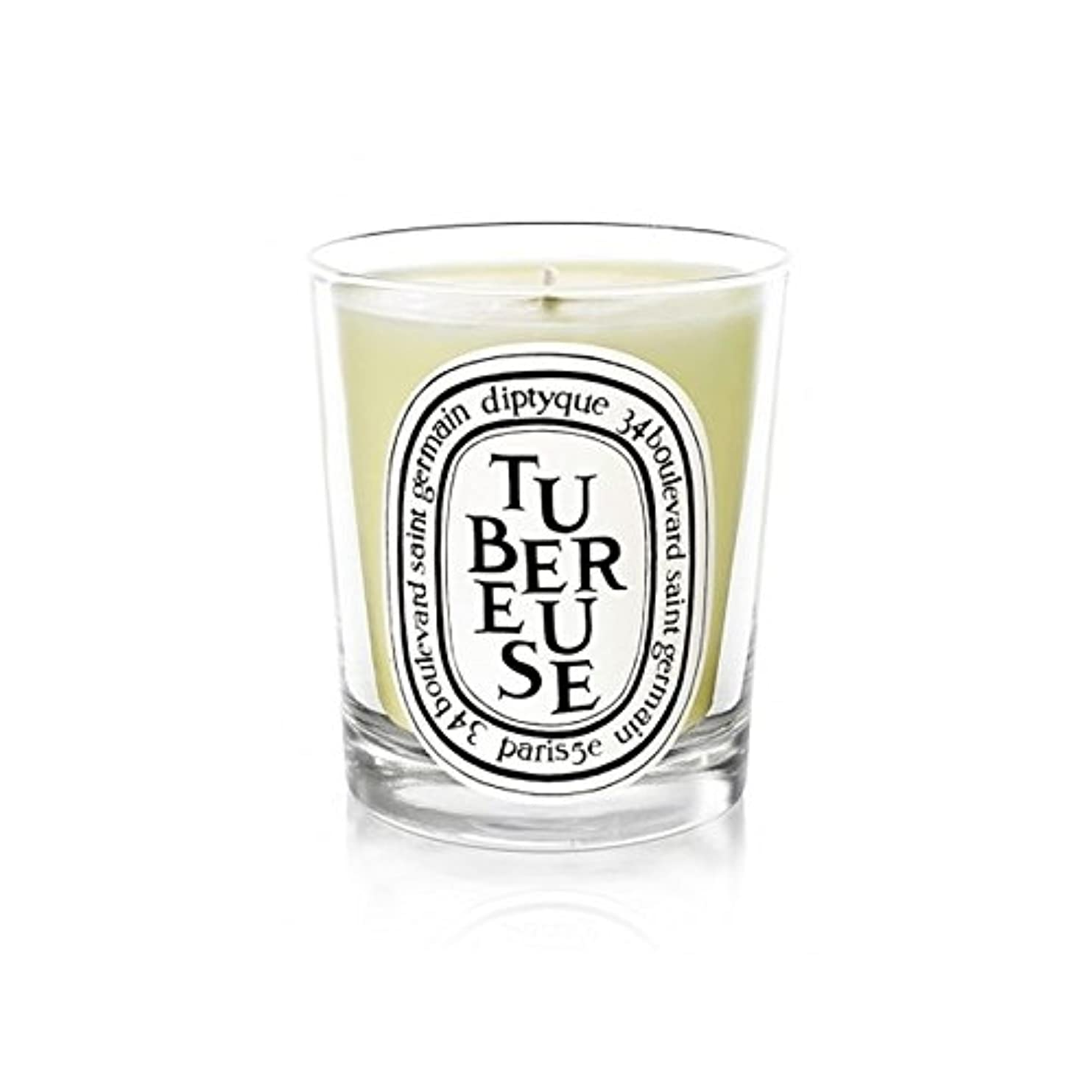Diptyque Candle Tub?reuse / Tuberose 190g (Pack of 2) - DiptyqueキャンドルTub?reuse/月下の190グラム (x2) [並行輸入品]