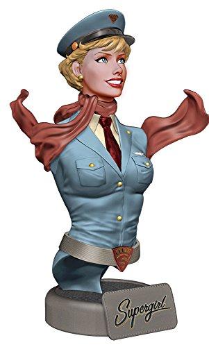 ボムシェルズ ミニバスト DCコミックス スーパーガール 高さ約19センチ レジン製 塗装済み完成品ミニバスト