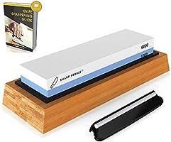 Sharp Pebble Premium Whetstone Knife Sharpening Stone 2 Side Grit 1000/6000 Waterstone   Best Whetstone Sharpener  ...