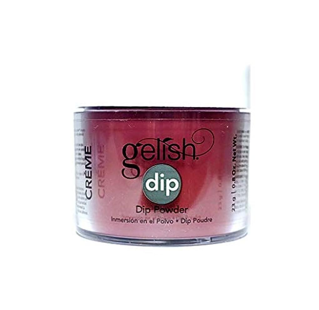 せせらぎアクセシブル超音速Harmony Gelish - Dip Powder - Red Alert - 23g / 0.8oz