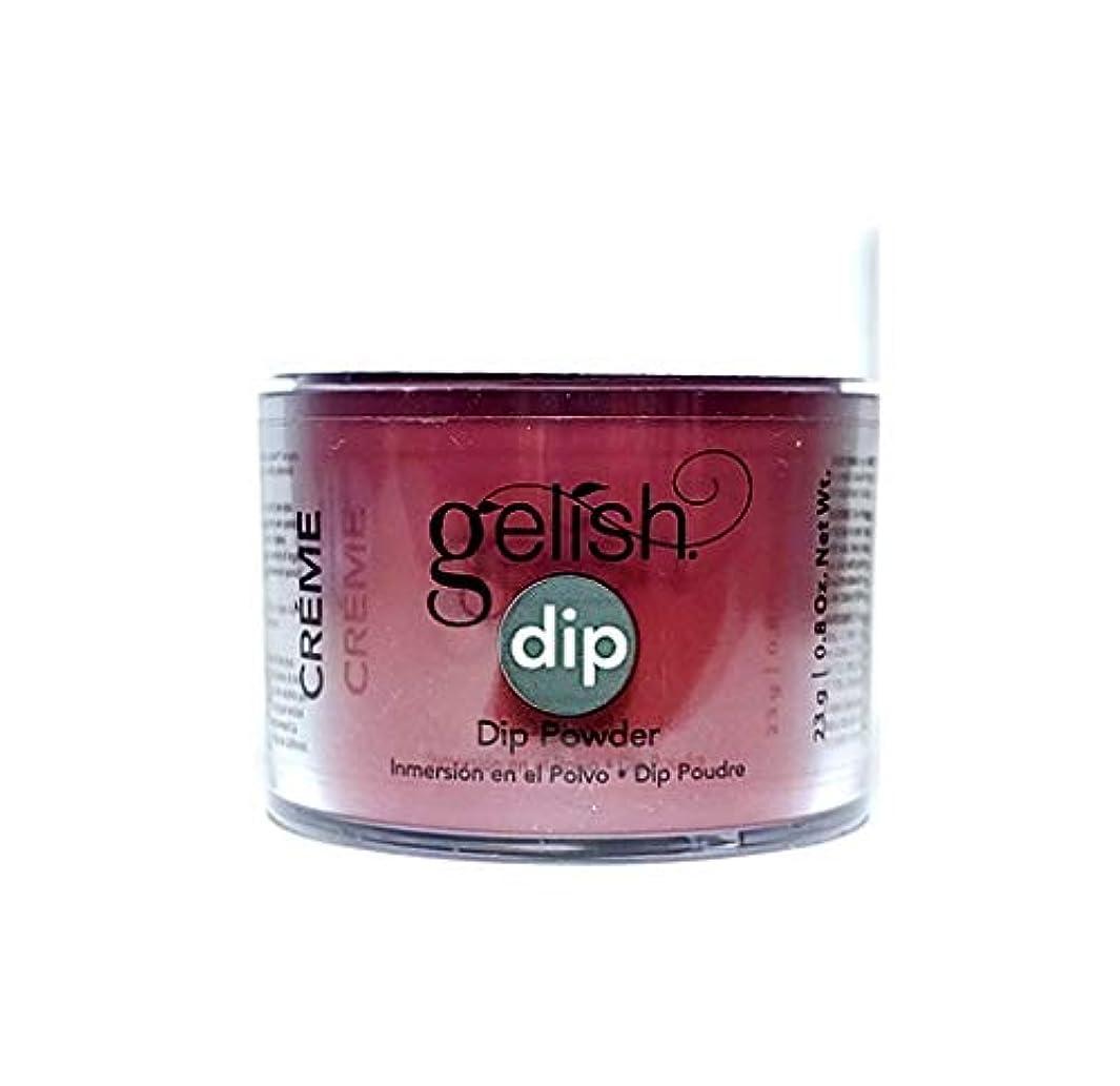 ありそう多様体の頭の上Harmony Gelish - Dip Powder - Red Alert - 23g / 0.8oz