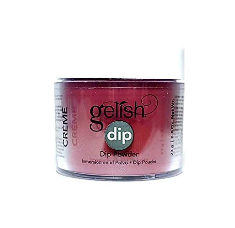 バレエ委任間違っているHarmony Gelish - Dip Powder - Red Alert - 23g / 0.8oz