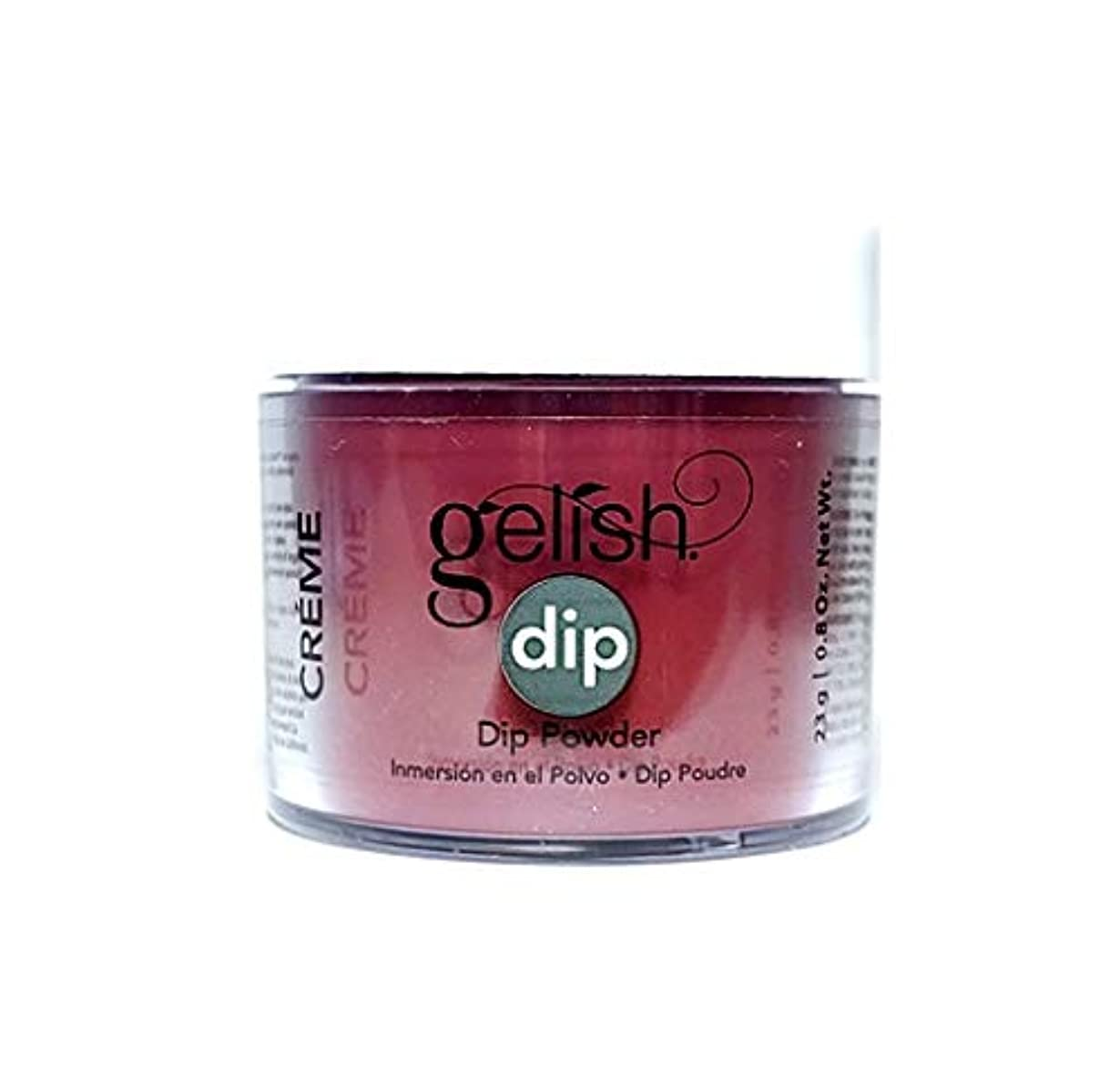 地区一見チョップHarmony Gelish - Dip Powder - Red Alert - 23g / 0.8oz