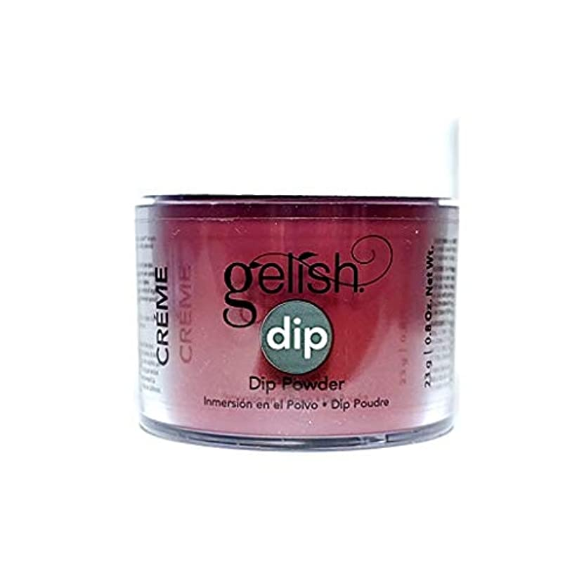 甘味スタイル年次Harmony Gelish - Dip Powder - Red Alert - 23g / 0.8oz