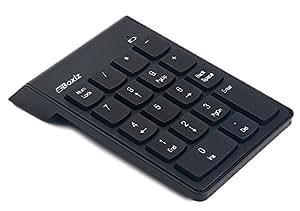 Boxiz 無線 ワイヤレス テンキー ボード ノートパソコンやタブレットPCに 携帯 持ち運び便利