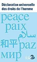 Declaration universelle des droits de l'homme: dans 6 langues ONU