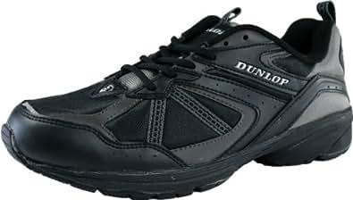 (ダンロップ) DUNLOP マックスランライト DM153 メンズ スニーカー (24.5cm, ブラック)