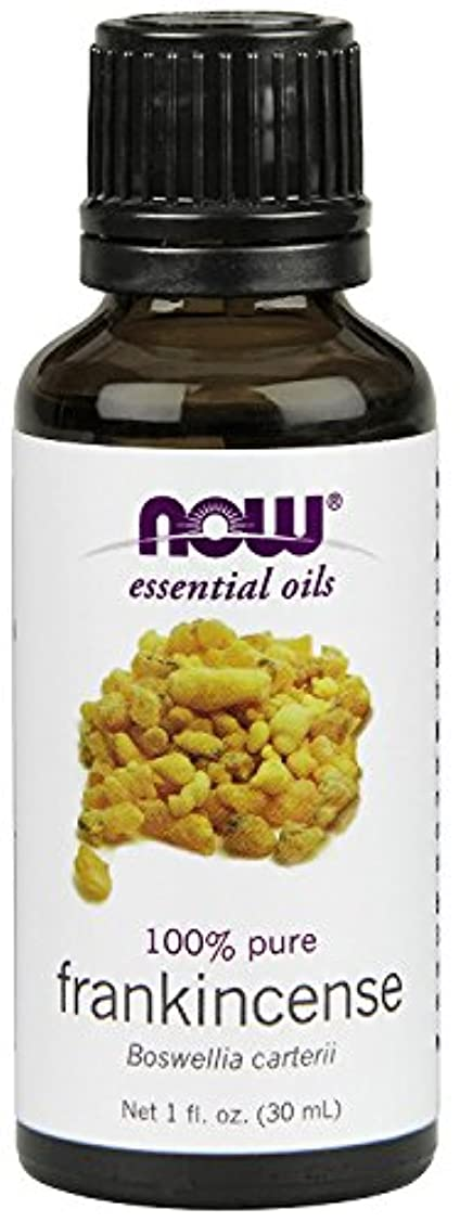 証人パズル君主制NOW Foods エッセンシャルアロマオイル フランキンセンス 30ml Frankincense Oil 海外直送 [並行輸入品]