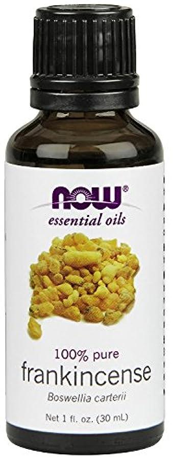 解釈的ペイント帳面NOW Foods エッセンシャルアロマオイル フランキンセンス 30ml Frankincense Oil 海外直送 [並行輸入品]