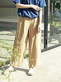 (コーエン) COEN 【WEB限定サイズ⇒XL】フレンチリネン9分丈パンツ 76406029015