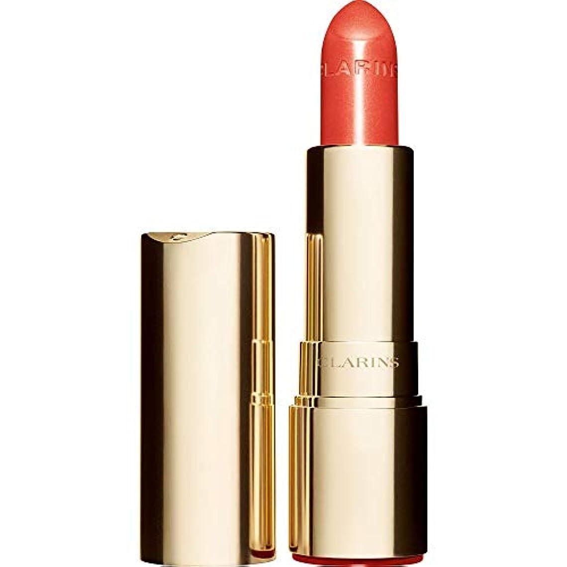 半導体橋脚司書[Clarins ] クラランスジョリルージュブリリアント口紅3.5グラムの711S - パパイヤ - Clarins Joli Rouge Brillant Lipstick 3.5g 711S - Papaya [並行輸入品]