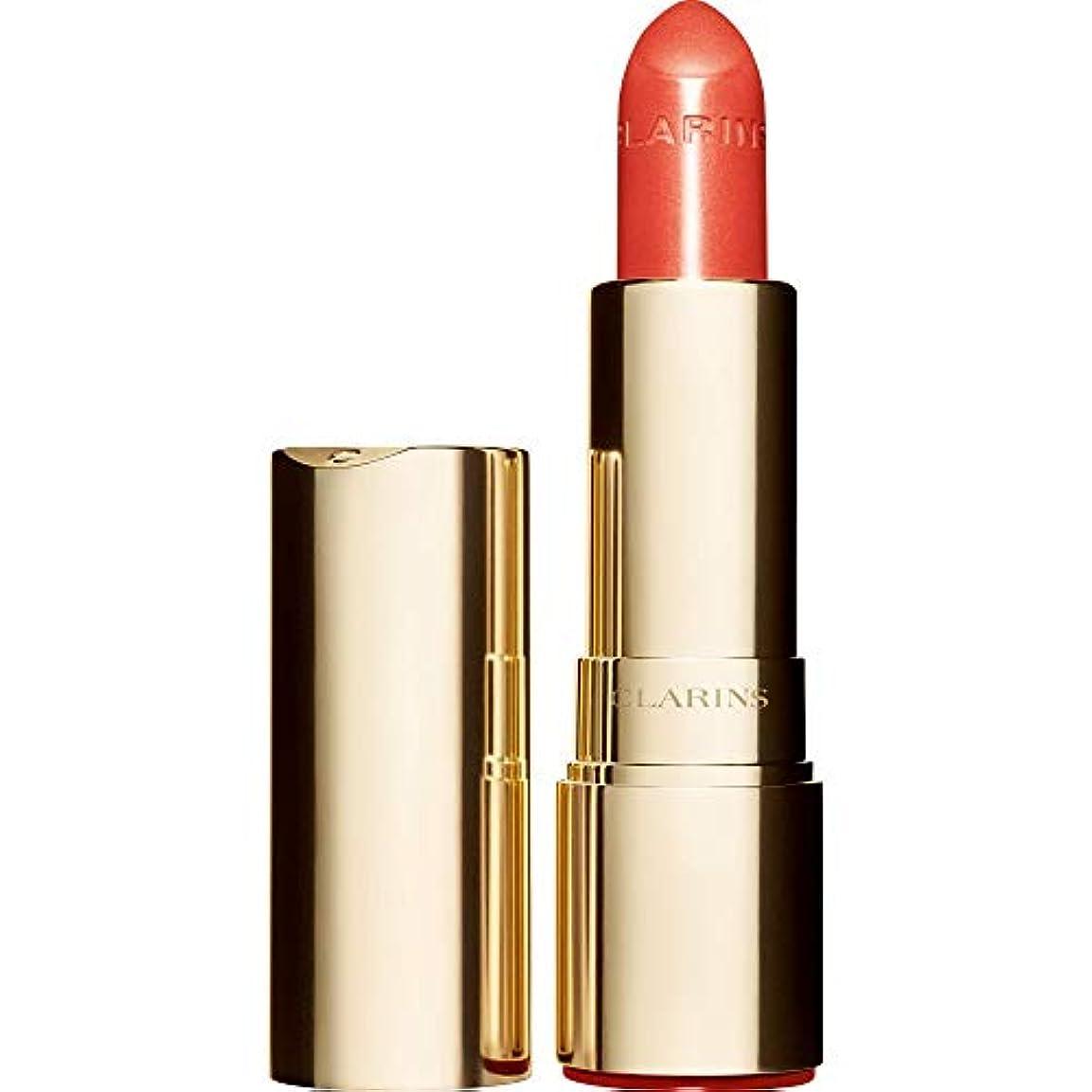前文ナチュラル装備する[Clarins ] クラランスジョリルージュブリリアント口紅3.5グラムの711S - パパイヤ - Clarins Joli Rouge Brillant Lipstick 3.5g 711S - Papaya [並行輸入品]