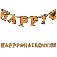 Guirlande Happy Halloween à l'unité