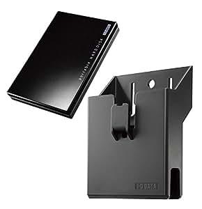 I-O DATA ポータブルハードディスク「カクうす」500GB+テレビ取り付けキットセット品 HDPC-AU500/TB