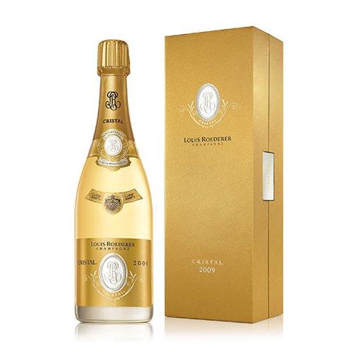 ルイ・ロデレール クリスタル 2009 750ml ギフトボックス付 シャンパン 白 辛口【正規品】