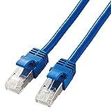 エレコム LANケーブル CAT7準拠 カテゴリー7 やわらか 3.0m ブルー LD-TWSY/BU3
