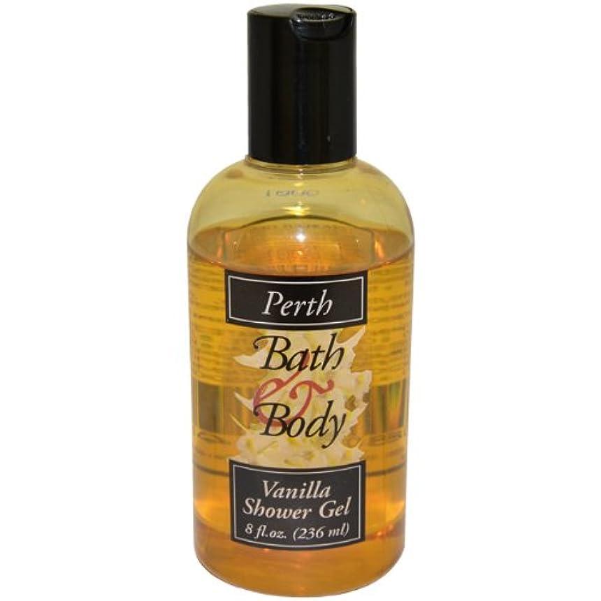 略語伝染性お誕生日Perth Shower Gel Unisex, Vanilla, 8 Ounce by PERTH