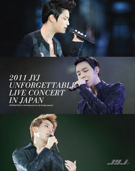 2011 JYJ UNFORGETTABLE LIVE CONCERT IN JAPAN