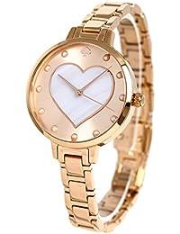 [ケイトスペード]KATE SPADE NEW YORK 腕時計 ハート グラマシー 34mm ホワイトシェル KSW1216 レディース [並行輸入品]