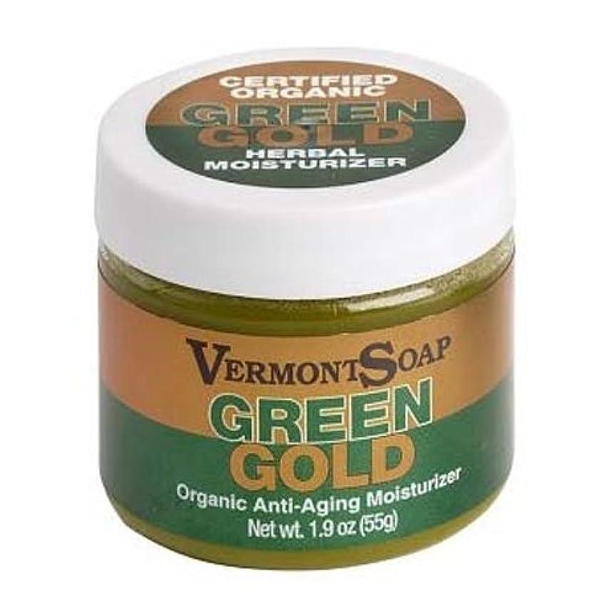 不承認コンテストする必要があるバーモントソープ オーガニック保湿クリームグリーンゴールドL