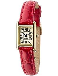 [ヴィーダ プラス]VIDA+ 腕時計 3針 MiniRectangular(ミニレクタンギュラー) J83915 LE-RD レディース