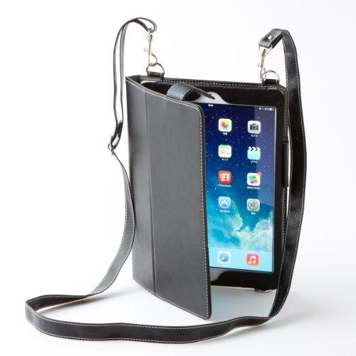 ショルダースタイルレザーケース for iPad Air(ブ...