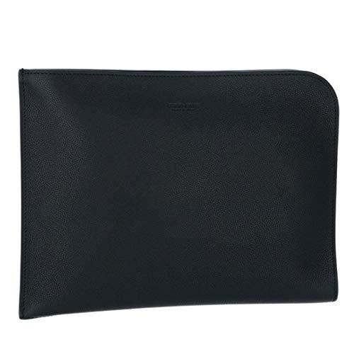 Giorgio Armani(ジョルジオアルマーニ) バッグ メンズ CALF LEATHER クラッチバッグ BLACK Y P234-YDZ J-80001 [並行輸入品]