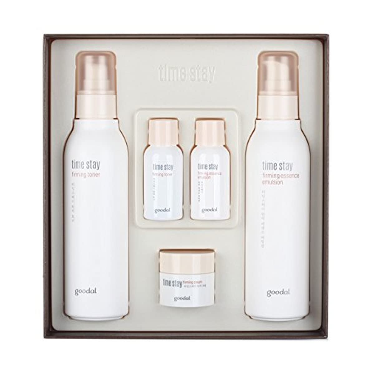 学ぶ隔離する祈りCLIO goodal time stay skin-firming care set