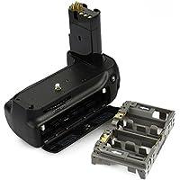 DSTE® プロ 互换 MB-D80 垂直 バッテリーグリップ のために Nikon ニコン D80 D90 カメラ