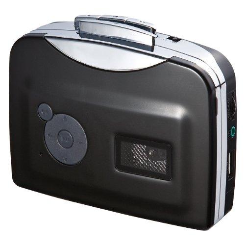 PC不要でカセットテープの音源をMP3に変換できるプレーヤー「カセットテープ変換プレーヤー」が4,980円