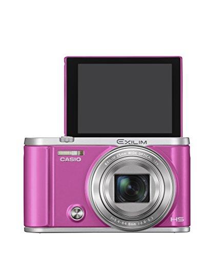 CASIO デジタルカメラ EXILIM EX-ZR3200VP 自分撮り・みんな撮りが簡単 スマホへ自動転送