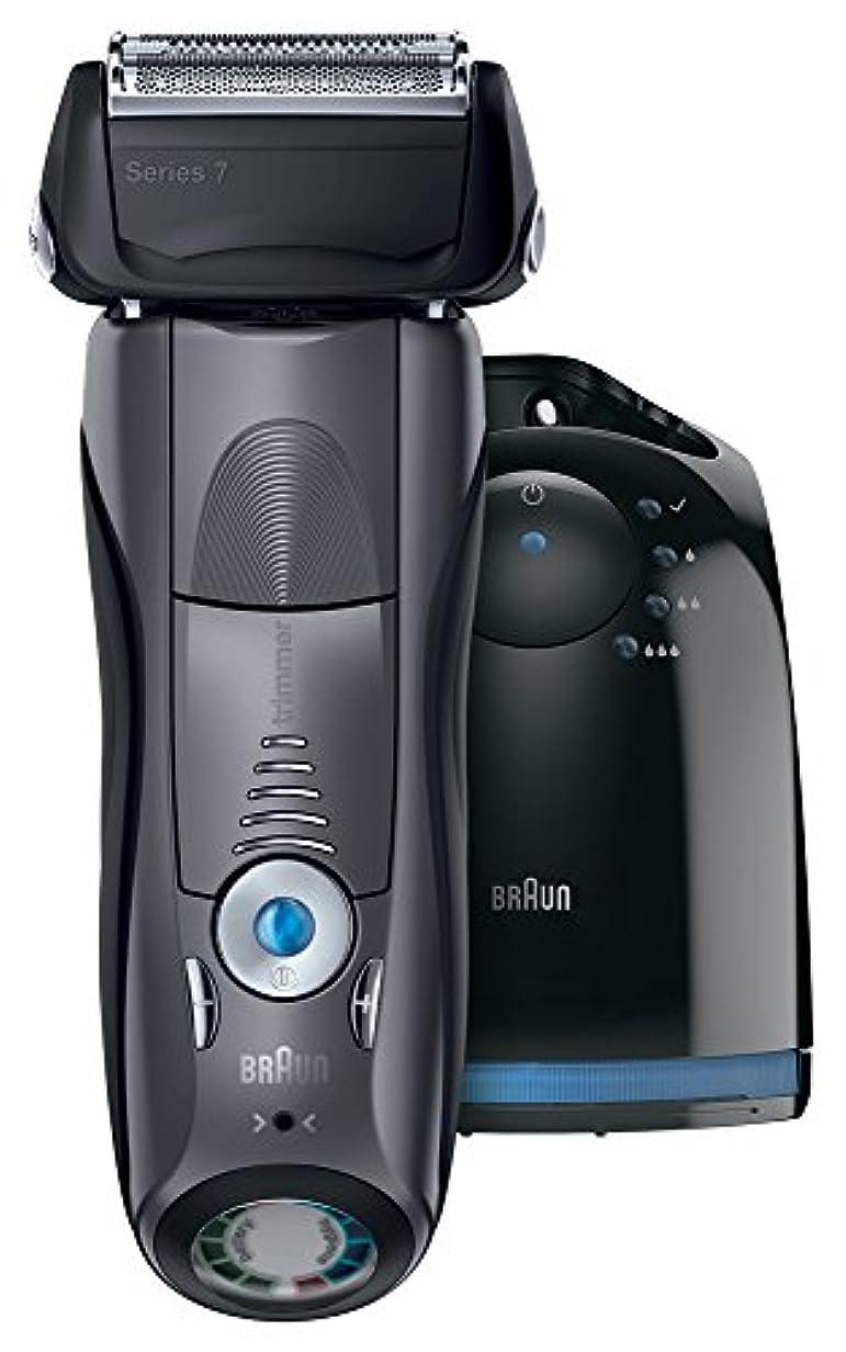 米国キリンレンズブラウン シリーズ7 メンズ電気シェーバー 790cc-7LDE 丸ごと水洗い可